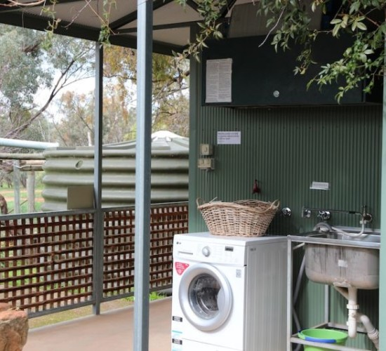 Shower and Toilet Block - Kookaburra Creek Retreat