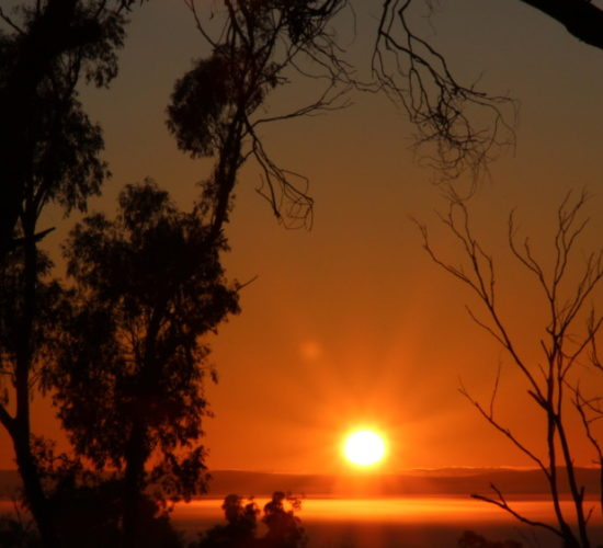Sunset Melrose Flinders rangers