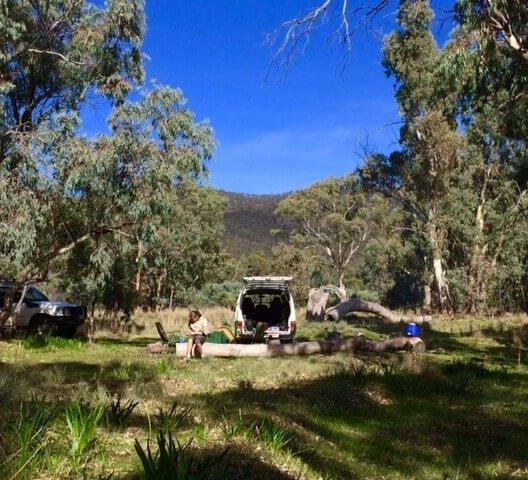 Camping, Melrose